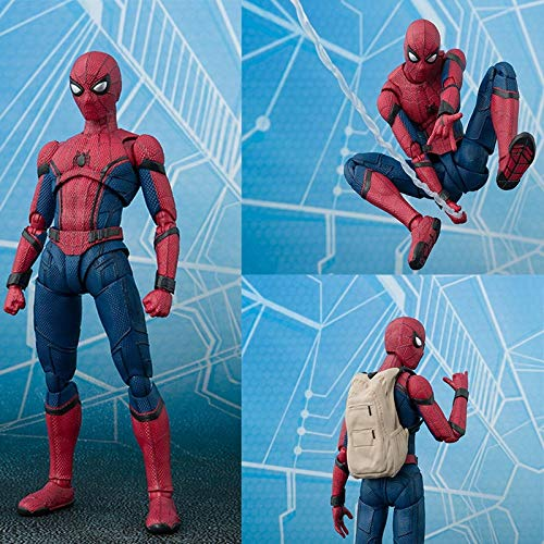 Pitaya. 15Cm Anime Spider Man Homecoming Action Figure Toy Hot Movie DIY Dispaly Brinquedos Children Birthday Juguetes Gift -Collectable Movies Comics Gamerverse Superheroes (The Amazing Spider Man 3 Doc Ock)