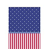 Amscan American Classic Patriotic 4th of July Party Picnic Table Cover (1 Piece), Multi Color, 15.75 x 7.9