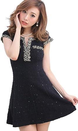 032cdee30bf5b Tearly キャバ ドレス ミニ ロング フレア キャバワンピ キャバドレス 大きいサイズ ワンピースドレス パーティー ドレス