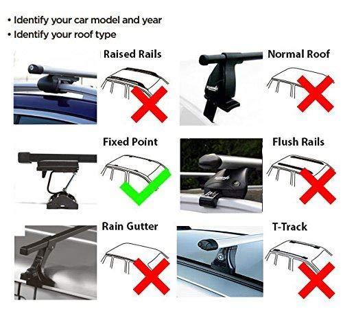 UKB4C Roof Rack Cross Bars /& Deck fits Peugeot Partner 1997-2007 4,5 door