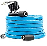 Camco 25ft TastePURE Heated Drinking Water Hose - Lead and BPA Free, Reinforced for Maximum Kink Resistance, 1/2
