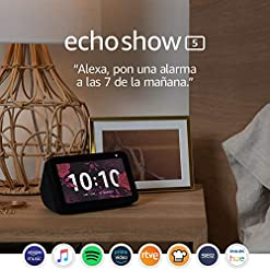 Echo Show 5: stay in touch with the help of Alexa, black