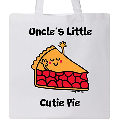 Inktastic - Uncle's little Cutie Pie Tote Bag White - Flossy And Jim