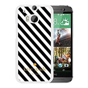 Unique Custom Designed Kate Spade Cover Case For HTC ONE M8 White Phone Case 48