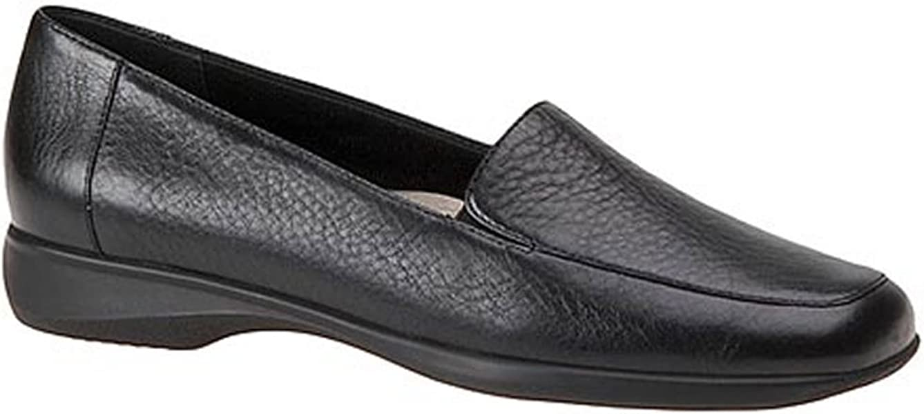59560c91793 Trotters Womens Jenn Leather Square Toe Loafers