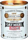McCann's Steel Cut Oatmeal, 28-Ounce Tin (Pack of 4)