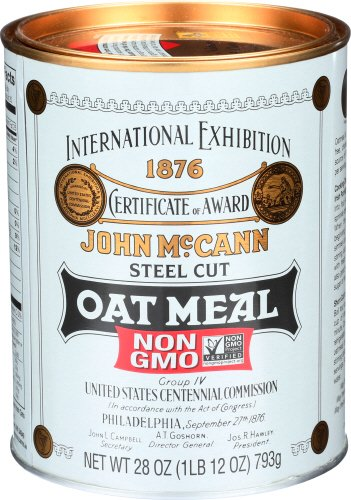 Mccann's Steel Cut Oatmeal, 28-Ounce Tin (Pack of 4)