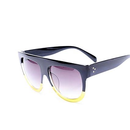 YYXXZZ Gafas de sol Gafas de Sol cuadradas extragrandes y ...