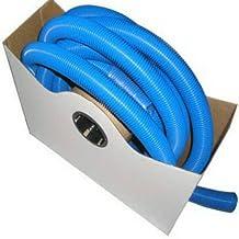 SAMAR COMPANY INC 1-1/4 Inch I.D. x 25-Ft. Blue Swimming Pool & Vacuum Corrugated Hose