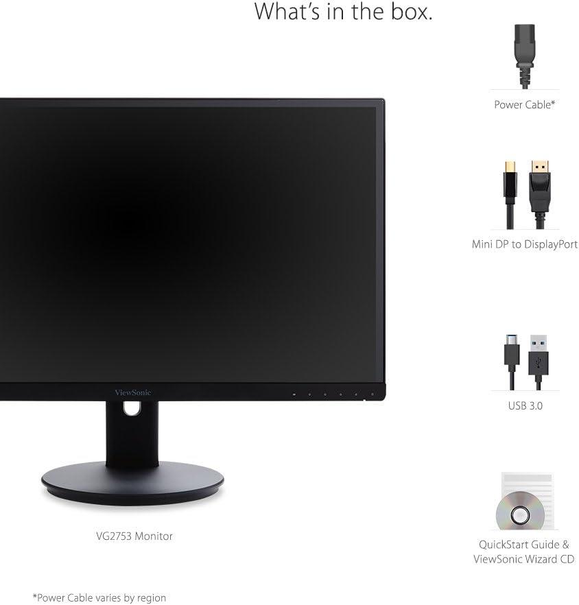 Viewsonic Vg2753 68 6 Cm Business Monitor Schwarz Elektronik