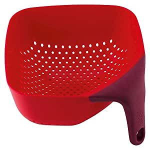 New ® Square Colander Red (Medium)