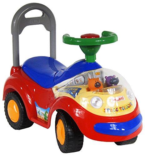 Juguete montar coche de coches para ninos 2108MY Garbus Música la de rojo: Amazon.es: Bebé