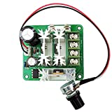 Onyehn Upgraded 6V-90V 6V 12V 36V 60V 90V 15A DC Motor Pump PWM Speed Controller 1000W 16KHZ Regulator Module Board Support PLC Control with Speed Control Switch