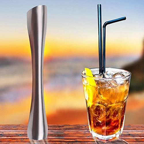Muddler Spoon - 2019new Creative Metal Stainless Steel Cocktail Muddler Swizzle Stick Bar Diy Ice Crusher Rod Hammer - Cream Ice Bar Ice Muddler Stainless Bar Ice Pick Other Stick Stirrer Ice ()