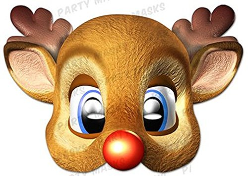 Offic (Rudolph The Red Nosed Reindeer Costume Adults)
