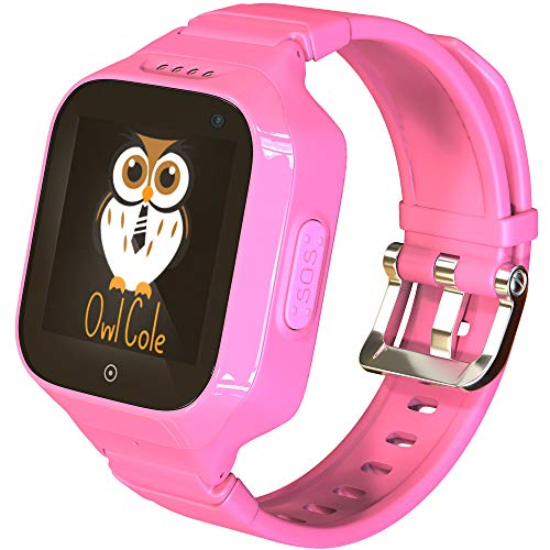 3G GPS Tracker Best Waterproof Wrist Smart Phone Watch for Kids with Sim Slot Camera Anti Lost Fitness Tracker Birthday Holiday for Children Girls Boys iPhone Android Smartphone (Best Smartphone For Child)