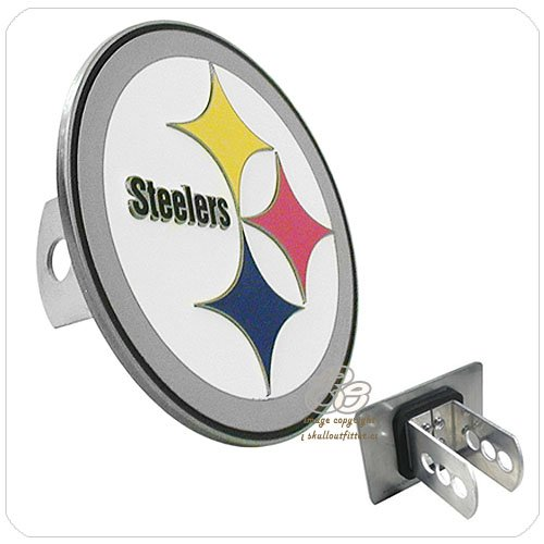 Siskiyou Pittsburgh Steelers Logo Hitch Cover - Pittsburgh Steelers One Size