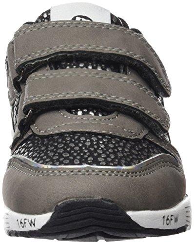 MTNG Attitude 69921, Zapatillas con Velcro infantil Gris (Lannister Gris / Larto Plata)