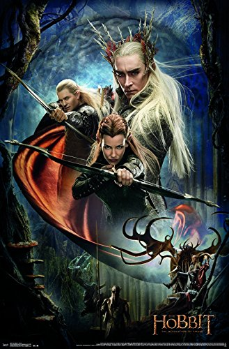 hobbit 2 group wall poster