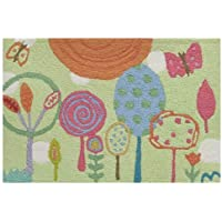 Jellybean Rug Big Bean - Happiness Lane(C) -(22 x 43)
