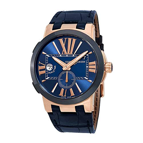 Ulysse Nardin Executive Dual Time Automatic Blue Dial Men's Watch 246-00/43 ()