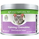 Only Natural Pet Calming Cat Chewables 60 Count