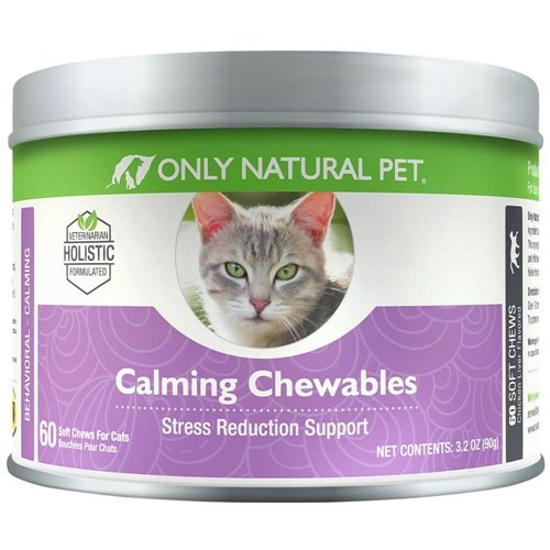 Only Natural Pet Calming Cat Chewables Stress Reduction