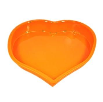 Leisial 1 Stucke Herzform Silikonbackform Kuchenformen Silikon