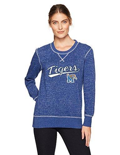 (NCAA Memphis Tigers Women's OTS Seneca Crew Neck Pullover Seneca Large)