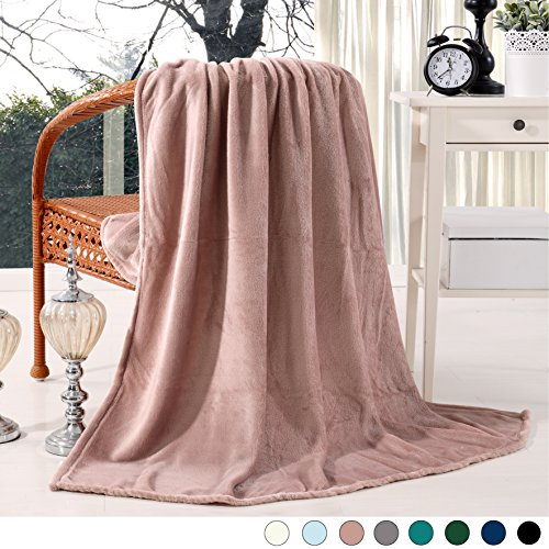 Luxury Flannel Velvet Plush Throw Blanket - 50