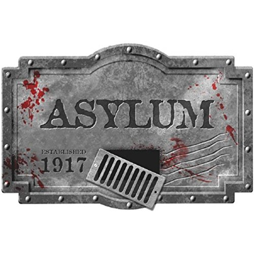 Asylum Foam Sign Grey (Asylum Foam Sign)
