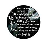 Tom-Petty-Wildflower-lyrics-on-Vinyl-Record-Wall-Decor
