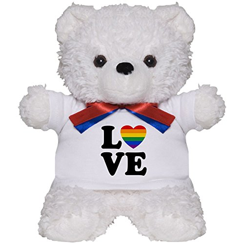 CafePress - Gay Love - Teddy Bear, Plush Stuffed Animal -
