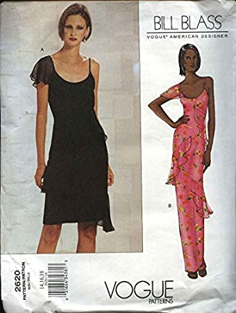 Amazon.com: Vogue Sewing Pattern 2620 Misses Size 14-16-18 Bill ...