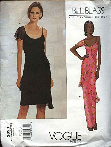 Amazon Vogue Sewing Pattern 60 Misses Size 606060 Bill Mesmerizing Vogue Evening Dress Patterns