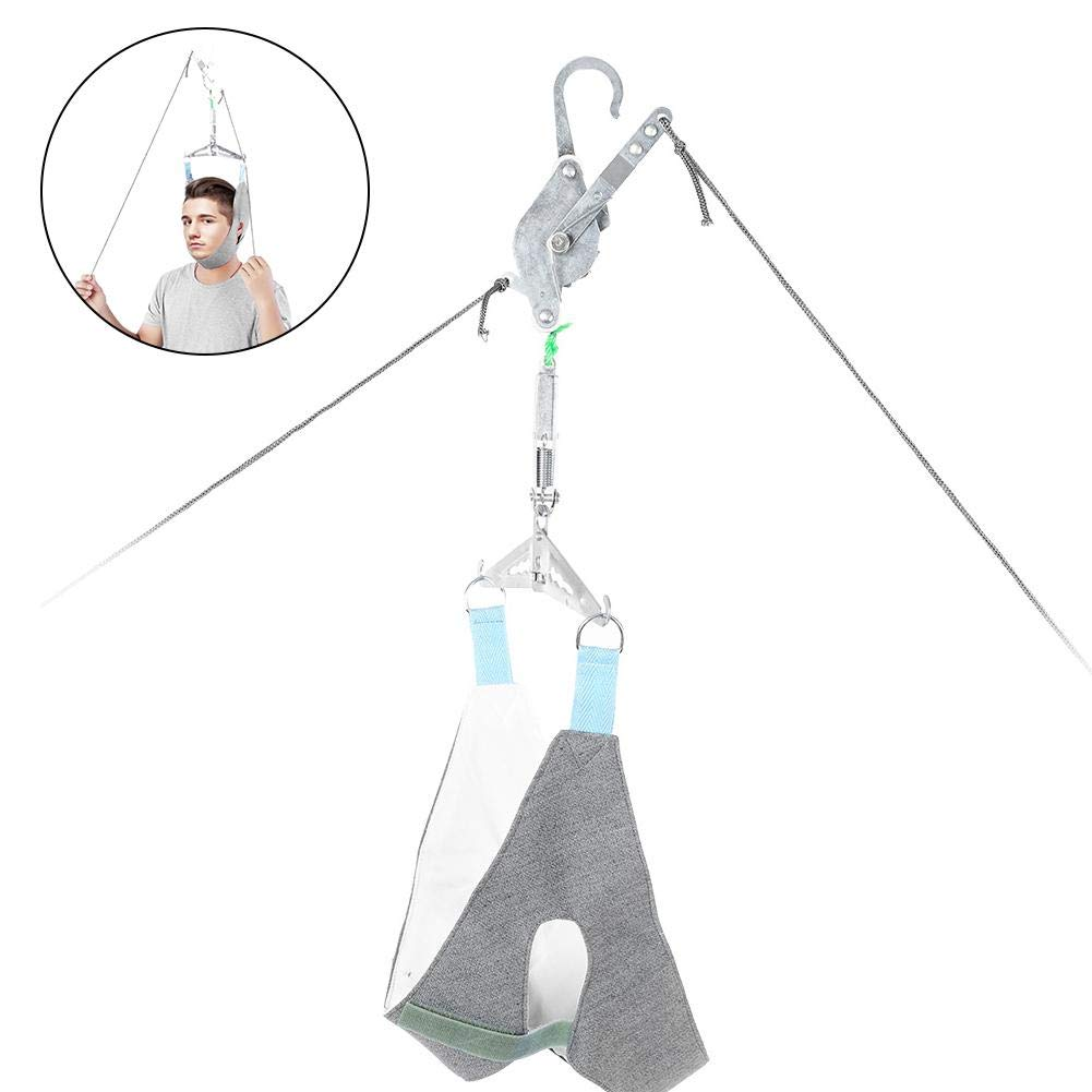cervical Traction Cuello dispositivo de masaje, unisex Neck Relax Hammock, portátil zervikale tracción cervical dispositivo, stretcher ajuste ...