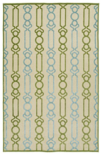 (Kaleen Rugs Five Seasons Collection Green Rug (2'1 x 4'))