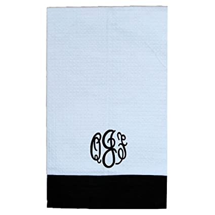 Get Well Soon Waffle Weave toallas de mano de 14 x 22 pulgadas decorativo bordado toallas