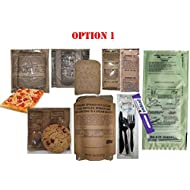 Pepperoni Pizza Military MRE / FULL MEAL / 2021 - Two Pizza MRE Options! (OPTION 1)