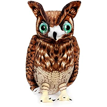 Oliver the Owl | 17 Inch Large Owl Stuffed Animal Plush | By Tiger Tale Toys