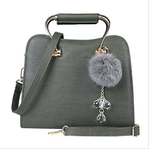 colore Selvatici Nero Semplice dimensioni Messenger Moda Bag 20cm 10 Verde 23 Tote Aqwx6qz4