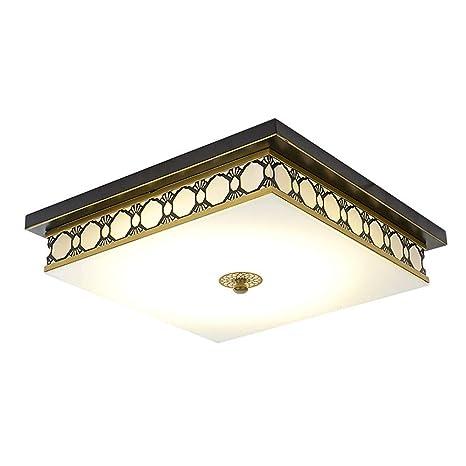 TXDZ Luces de techo LED cuadradas regulables Lámparas de ...