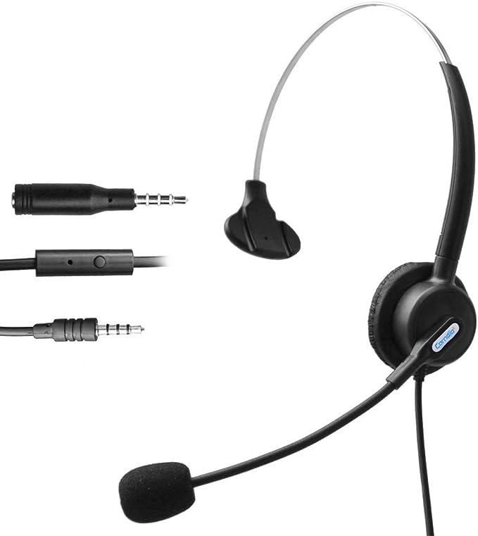 Comdio H103-35M9 - Auriculares de Diadema con micrófono para ...