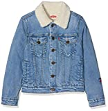 Levi's Kids Boy's Jacket NM40017, Blue (Indigo 46), 10 Years (Size: 10A)