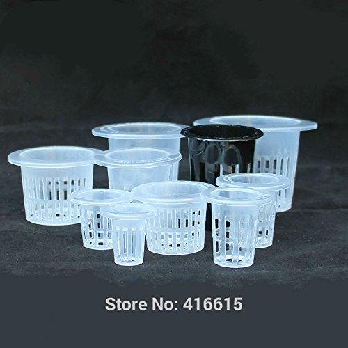 (Best Quality - Nursery Pots - Mesh Pot Net Basket Hydroponic Aeroponic Vegetable Nursery Pots Hidroponia System Agriculture Spatial Soilless Culture Equipment - by GTIN - 1 PCs)