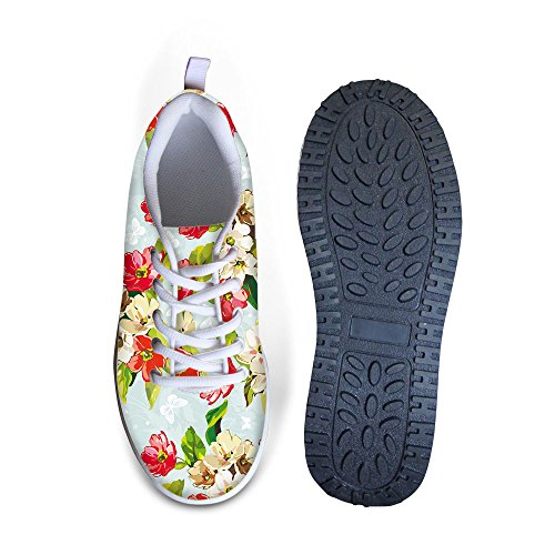 Câlins Idée Sweety Style Fleurs Maille Wedges Chaussures Plateforme Espadrilles Floral 6