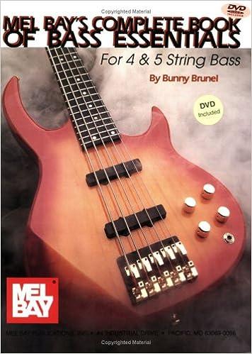 Book Mel Bay Complete Book of Bass Essentials Book w/ DVD set