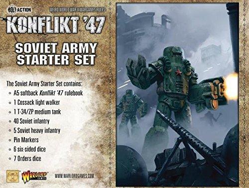 Konflikt '47 Soviet Starter Set by Warlord Games