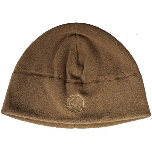 Beanie Fleece Brown - Orca Tactical Fleece Watch Cap Military Beanie Hat Unisex, One Size Fits All (Coyote)