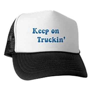 CafePress Keep On Truckin  - Trucker Hat 8da48baf51e9